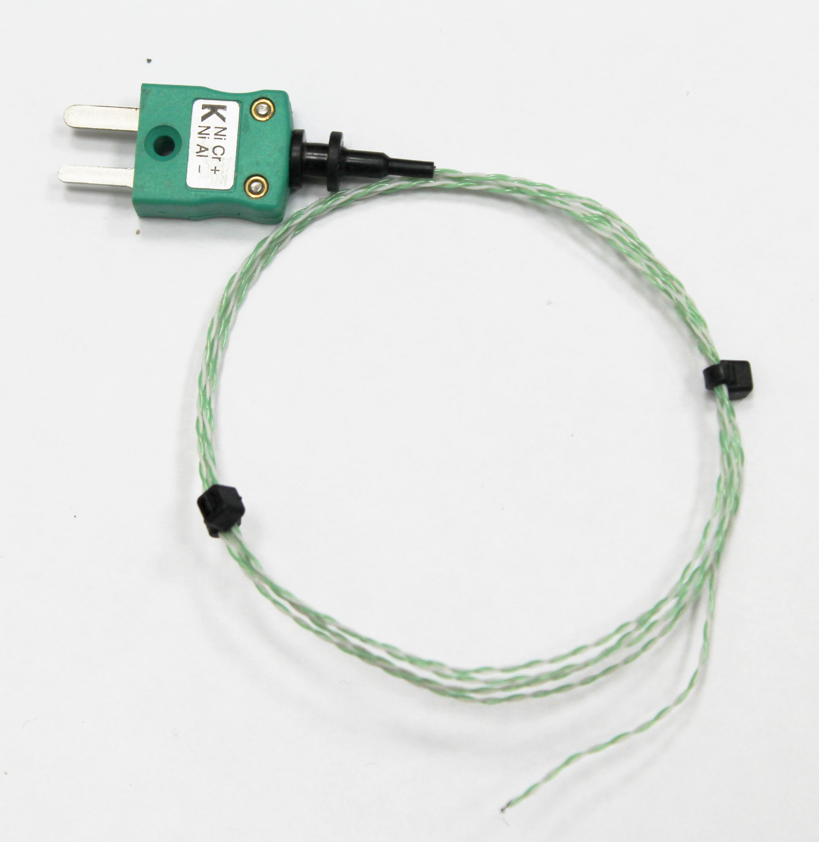 PTFE twisted pair exposed Junction Wire Thermocouple 250 C
